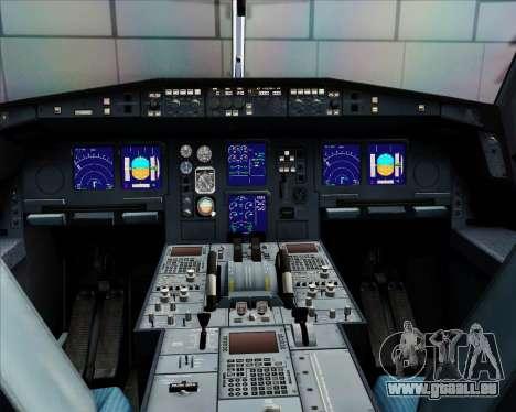 Airbus A340-312 Air Mauritius pour GTA San Andreas salon