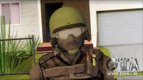 Australian Soldier für GTA San Andreas dritten Screenshot