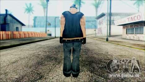 Manhunt Ped 11 pour GTA San Andreas deuxième écran
