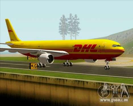 Airbus A330-300P2F DHL für GTA San Andreas Innenansicht