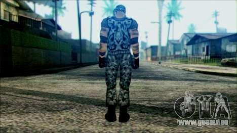 Manhunt Ped 22 pour GTA San Andreas deuxième écran