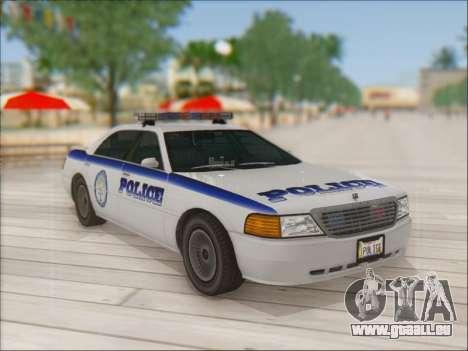 Admiral Police für GTA San Andreas Innenansicht