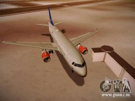 Airbus A319-132 Scandinavian Airlines für GTA San Andreas linke Ansicht