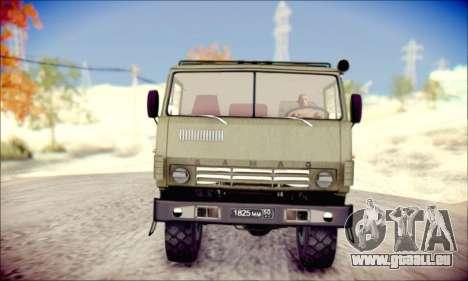 Die KamAZ-6350 (APT) für GTA San Andreas linke Ansicht