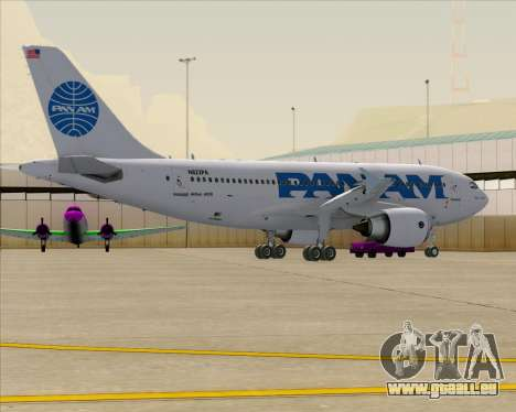 Airbus A310-324 Pan American World Airways für GTA San Andreas Räder