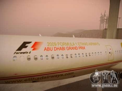 Airbus A340-600 Etihad Airways pour GTA San Andreas moteur