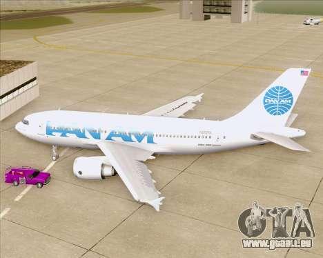 Airbus A310-324 Pan American World Airways pour GTA San Andreas vue intérieure