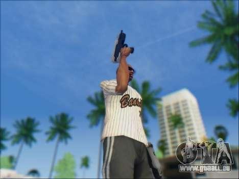 Uzi pour GTA San Andreas quatrième écran