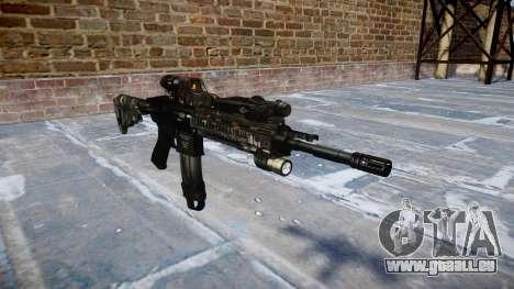 Fusil automatique Colt M4A1 ce numériques pour GTA 4