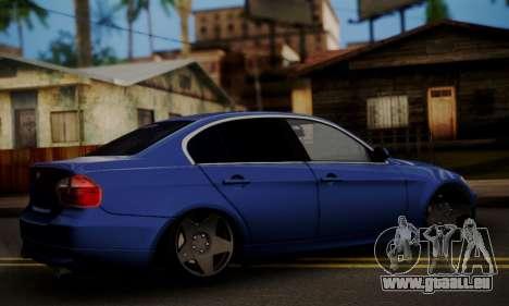 BMW M3 E90 Stance Works pour GTA San Andreas laissé vue