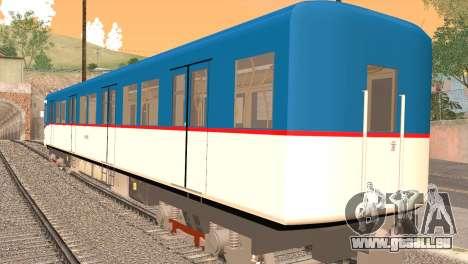LRT-1 pour GTA San Andreas laissé vue