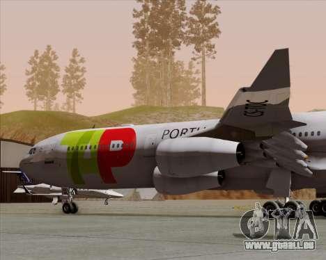 Airbus A340-312 TAP Portugal für GTA San Andreas Seitenansicht