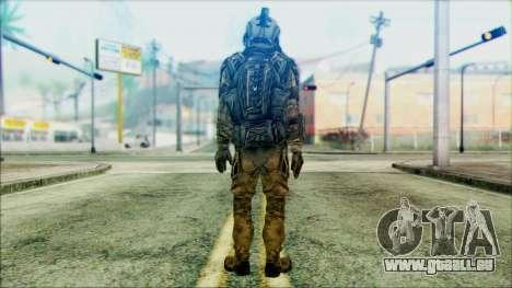 Les soldats de l'équipe de Fantômes 3 pour GTA San Andreas deuxième écran