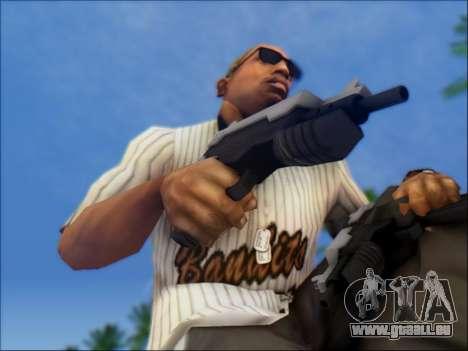 Uzi pour GTA San Andreas troisième écran