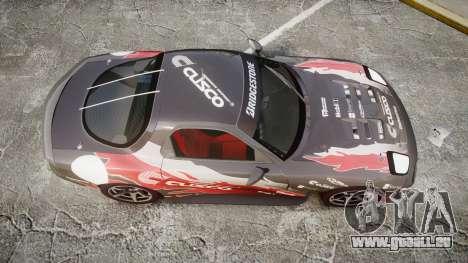Mazda RX-7 Cusco für GTA 4 rechte Ansicht