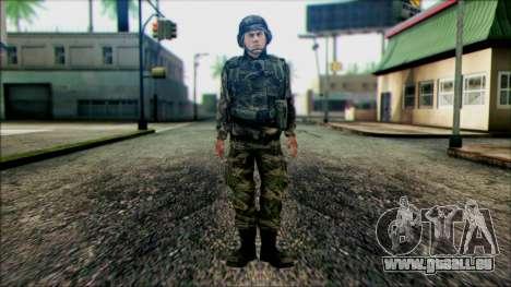 Les soldats de la garde Nationale des états-UNIS pour GTA San Andreas