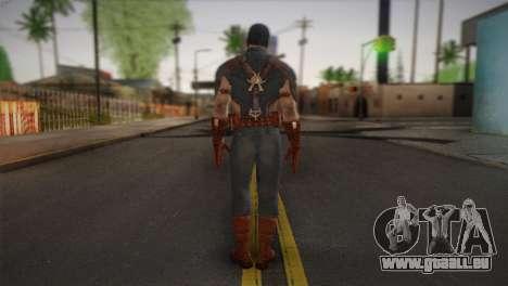 Captain America v1 pour GTA San Andreas deuxième écran