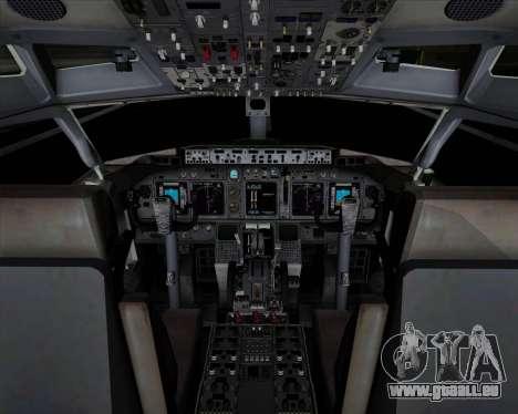 Boeing 737-89L Air China pour GTA San Andreas salon