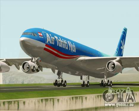 Airbus A340-313 Air Tahiti Nui pour GTA San Andreas