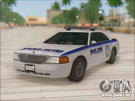 Admiral Police für GTA San Andreas Motor