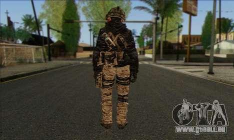 Task Force 141 (CoD: MW 2) Skin 14 für GTA San Andreas zweiten Screenshot
