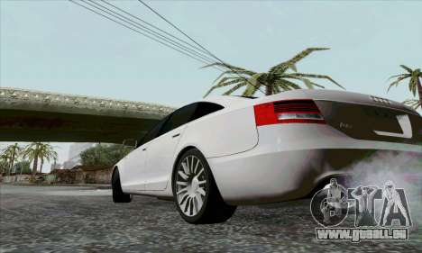 Audi A6 pour GTA San Andreas vue de côté