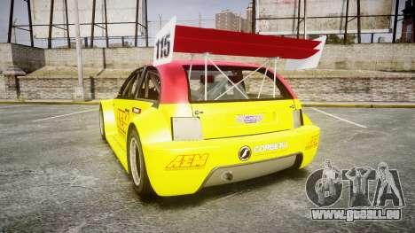 Zenden Cup AEM pour GTA 4 Vue arrière de la gauche