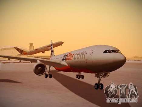 Airbus A330-200 Jetstar Airways pour GTA San Andreas laissé vue