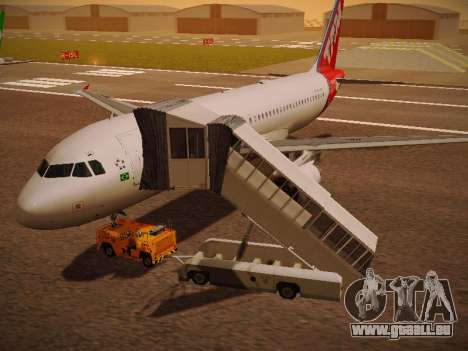 Airbus A320-214 TAM Airlines pour GTA San Andreas