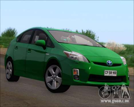 Toyota Prius für GTA San Andreas Räder