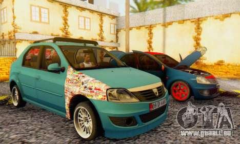 Dacia Logan 1.6 MPI Tuning pour GTA San Andreas