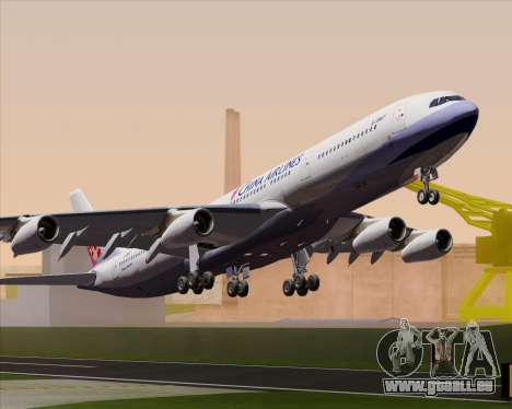 Airbus A340-313 China Airlines für GTA San Andreas