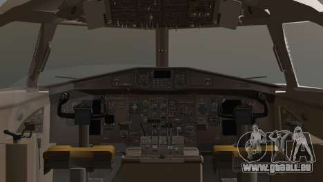 Indonesian Plane Wings Air für GTA San Andreas zurück linke Ansicht