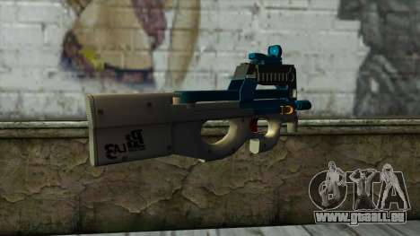 P90 from PointBlank v6 für GTA San Andreas zweiten Screenshot