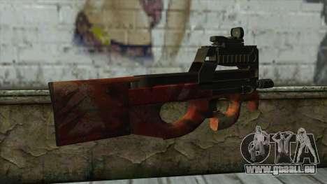 P90 from PointBlank v4 pour GTA San Andreas deuxième écran