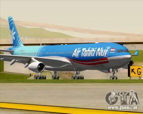 Airbus A340-313 Air Tahiti Nui pour GTA San Andreas laissé vue