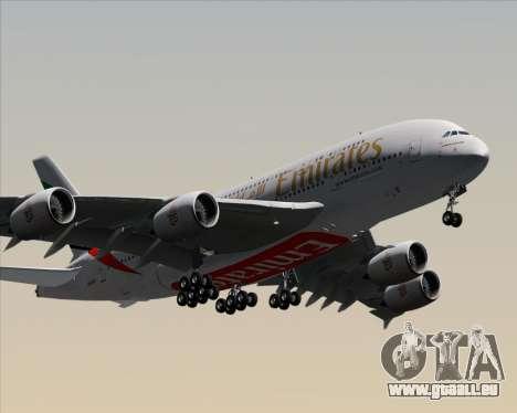 Airbus A380-841 Emirates pour GTA San Andreas vue intérieure