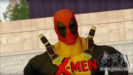 Xmen Deadpool The Game Cable pour GTA San Andreas troisième écran