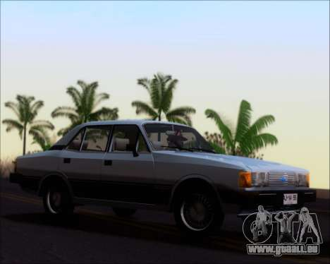 Chevrolet Opala Diplomata 1987 pour GTA San Andreas laissé vue