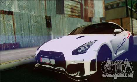 Nissan GT-R Muhammad Ali pour GTA San Andreas