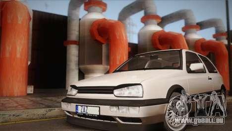 Volkswagen Golf Mk3 GTI für GTA San Andreas