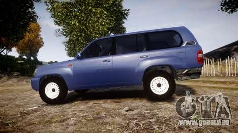Toyota Land Cruiser pour GTA 4 est une gauche