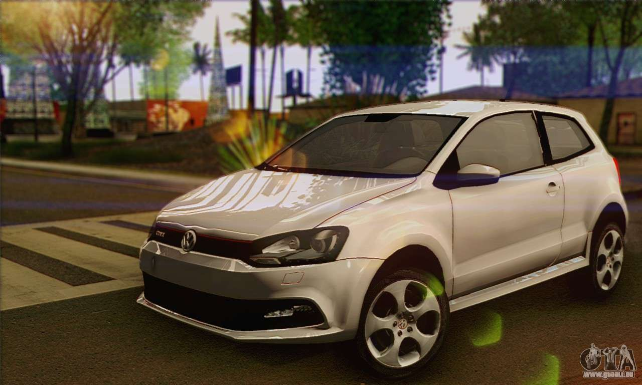 volkswagen polo gti 2011 pour gta san andreas. Black Bedroom Furniture Sets. Home Design Ideas