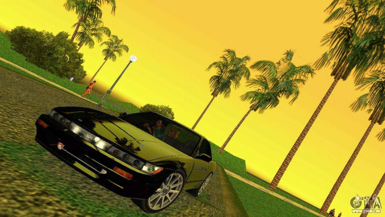 Nissan Silvia S13 Rb26dett Black Revel Pour Gta Vice City