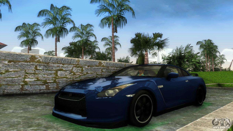 Nissan Gt R Specv Black Revel F 252 R Gta Vice City