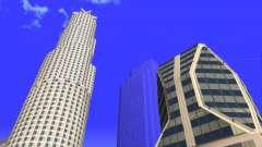 HD texture vier Wolkenkratzer in Los Santos