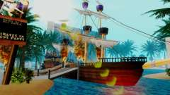 Neue Piratenschiff in Las Venturas
