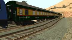 Pakistan Railways Train für GTA San Andreas