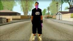 East Side Ballas Skin 2 für GTA San Andreas
