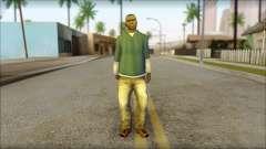 Franklin from GTA 5 für GTA San Andreas